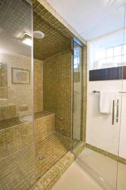 Steam shower wet sauna? Yes, please.