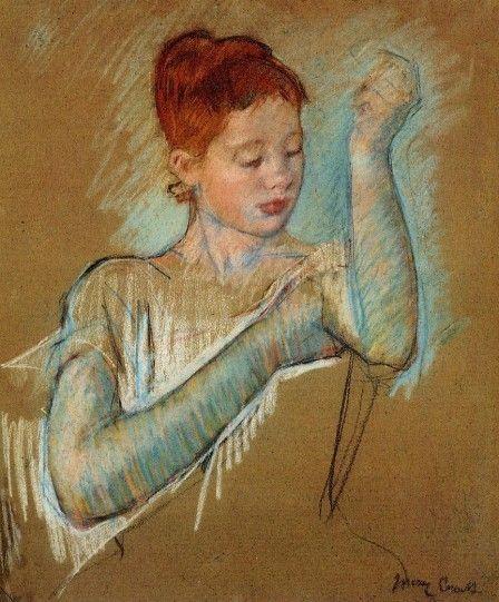 Les-longs-gants---Mary-Cassatt.