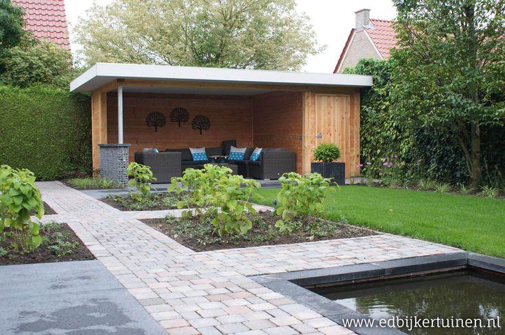Afbeeldingsresultaat voor tuin overkapping
