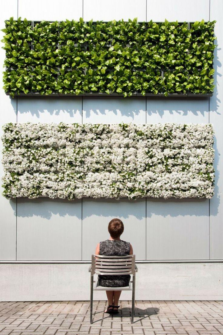 Cool Ein vertikaler Garten eignet sich ausgezeichnet f r Inneneinrichtung und Au endesign