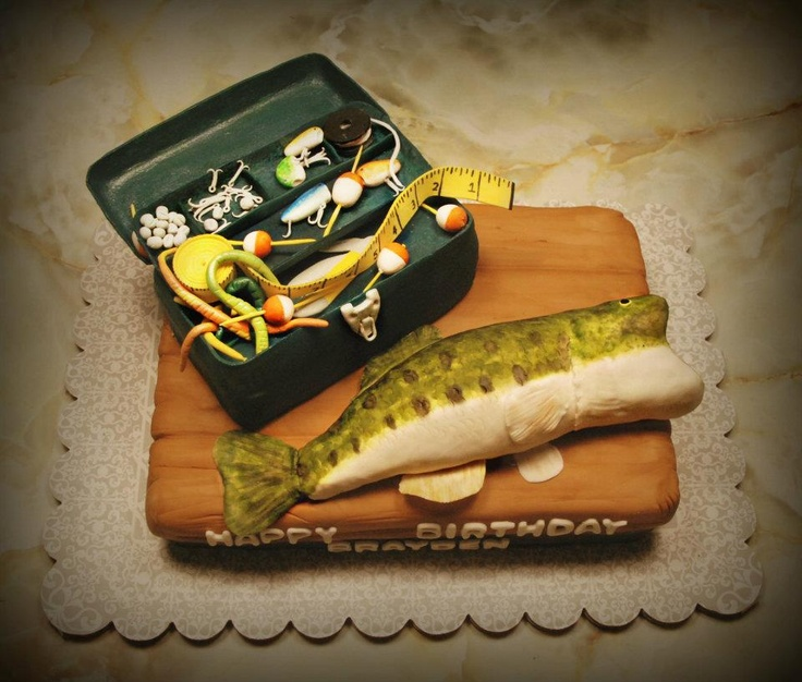 Salmon Birthday Cake: Best 25+ Bass Fish Cake Ideas On Pinterest