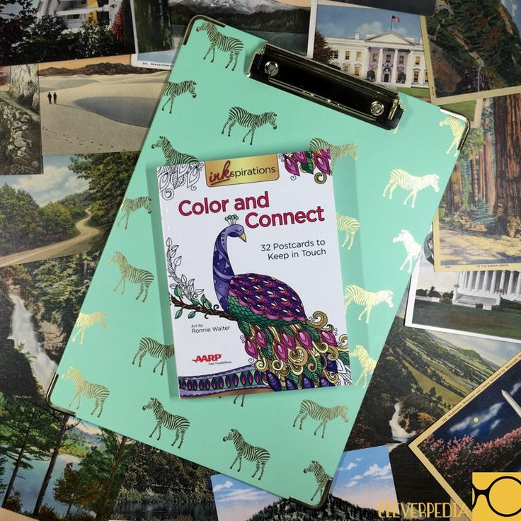 Inkspirations Color Connect Postcard Coloring Book Giveaway