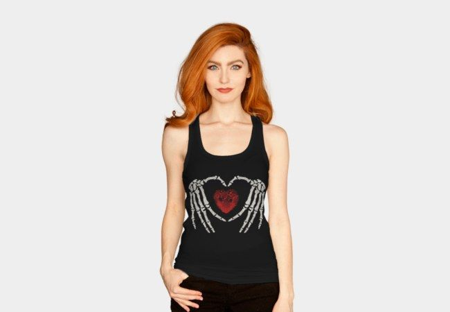 Dead Lover Heart Tank Top - Design By Humans