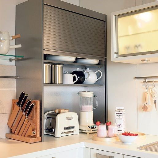 Appliance counter is a common platform where you can store