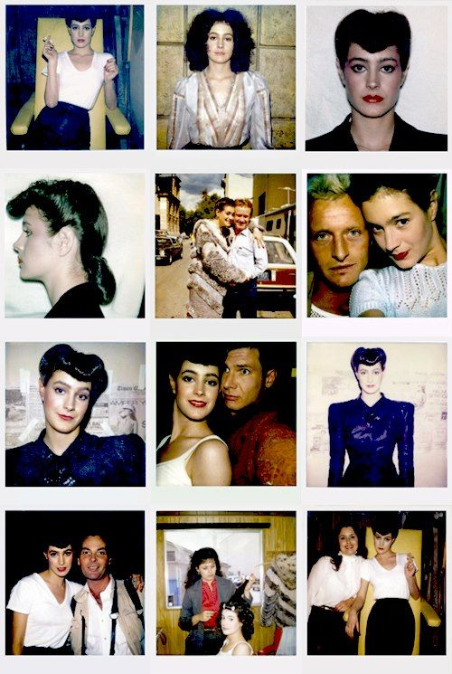 Polaroids on the set of Blade Runner (Ridley Scott, 1982)