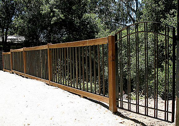 Industrial Fence Rebar Fence Pinterest The O Jays