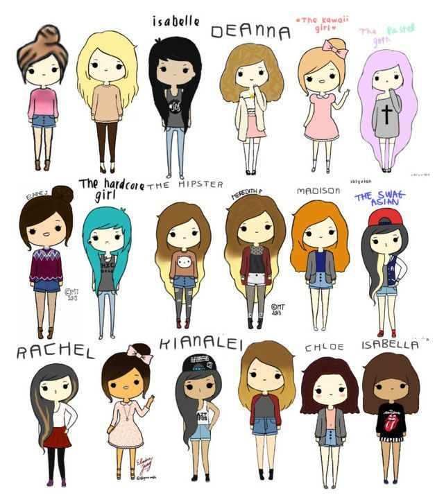Image Result For Cartoon Drawings People Kawaii Girl Drawings Cartoon Girl Drawing Kawaii Drawings