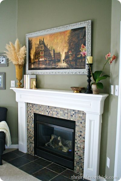 How To Decorate A Mantel Best With How to Decorate a Fireplace Mantel Photos