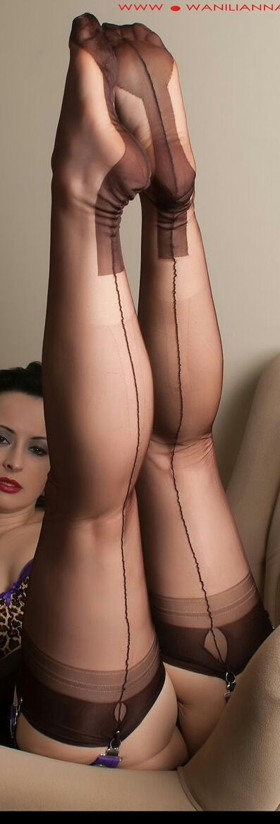 Pussy all nylon dreams pantyhose stockings, topless twister girls