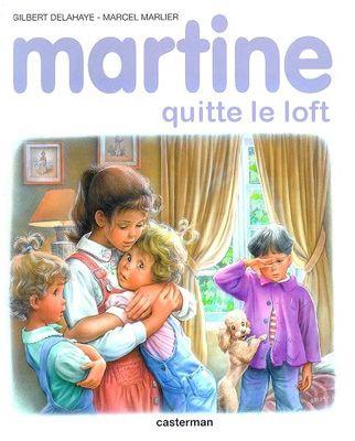 Martine quitte le loft