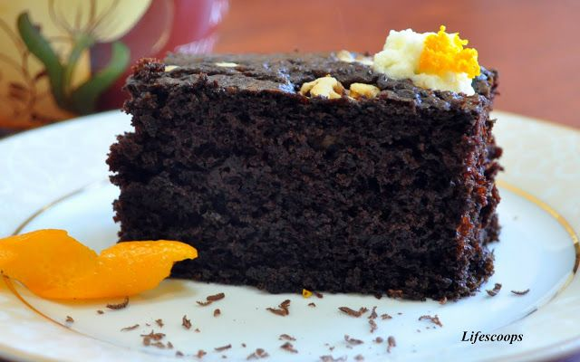 Very moist Chocolate Orange Cake - Easy Recipe!!