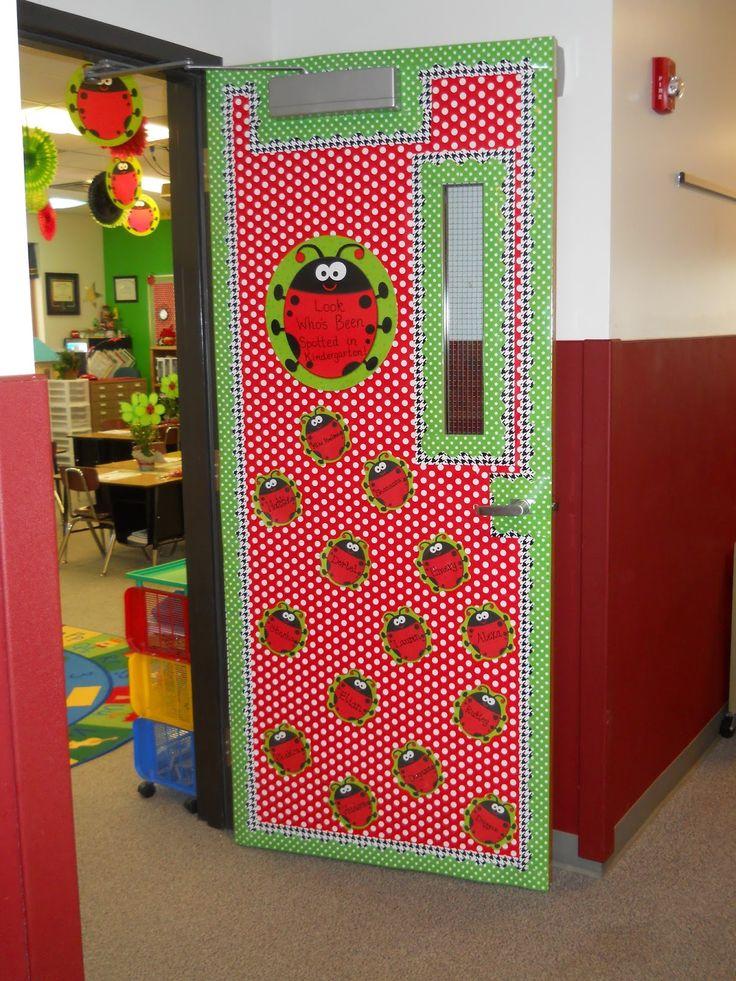 Ladybug Classroom Decor ~ Ideas about preschool door on pinterest