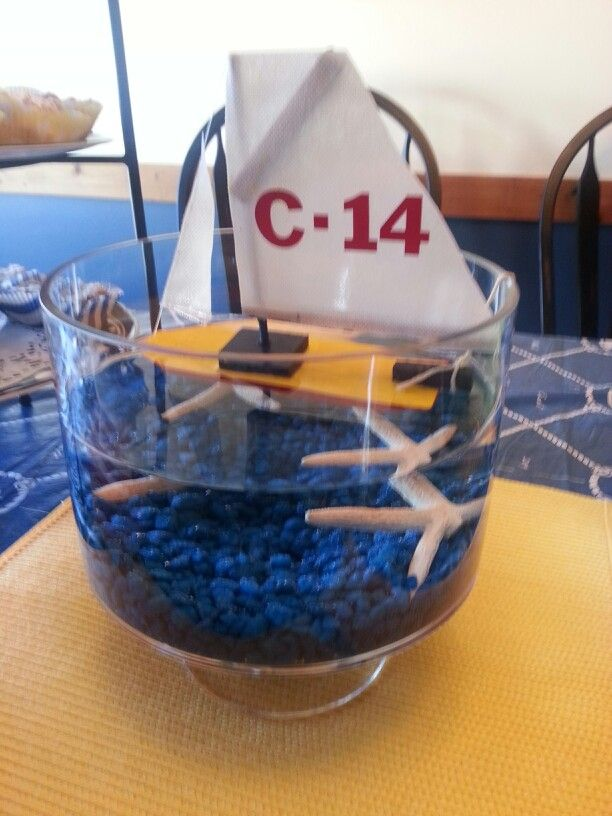 nautical centerpieces raise the sails gala pinterest