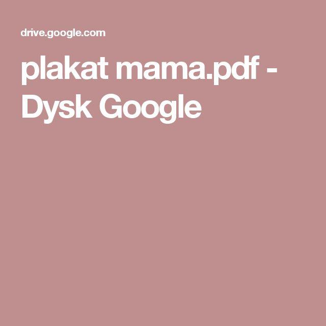 plakat mama.pdf - Dysk Google