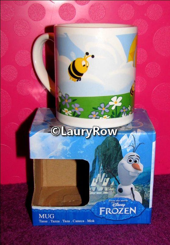 TASSE OLAF de la reine des neiges recto 1/ ♥ eu par maman le 16/01/16.♥.