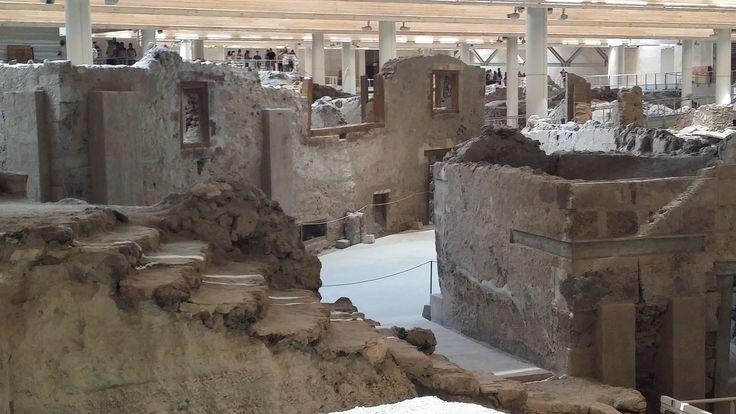 Προιστορικός οικισμός, Σαντορίνη.