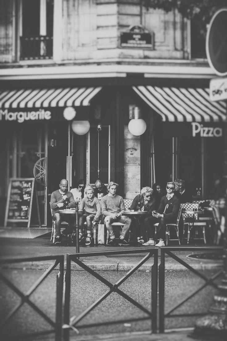 Paris In Black N White