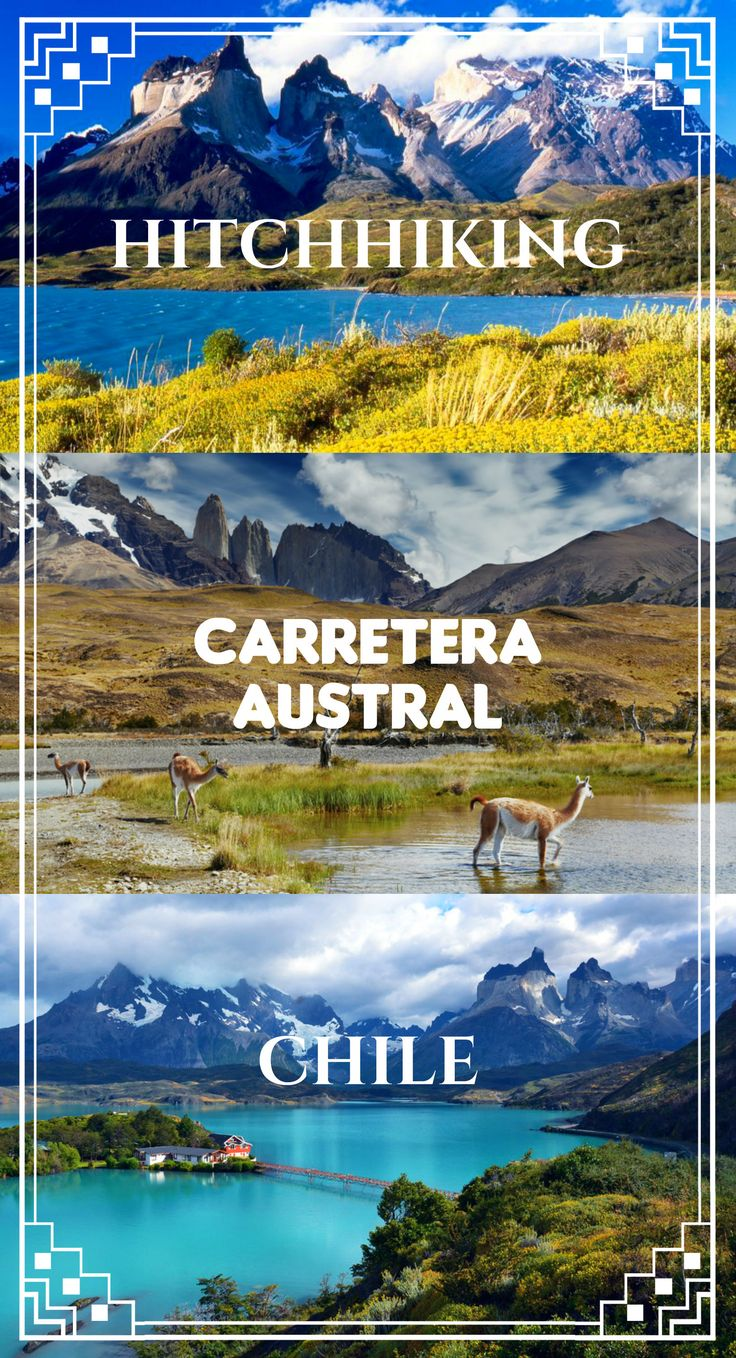 Hitchhiking Carretera Austral, Chile. From Puerto Montt to Cerro Castillo, Coyhaique, Pumalin park, Villa O'Higgins, 1240km. Campsites, national parks, prices, ATMs, tips. Travel Chile, Patagonia, hitchhiking, Chile on a budget, travel South America.
