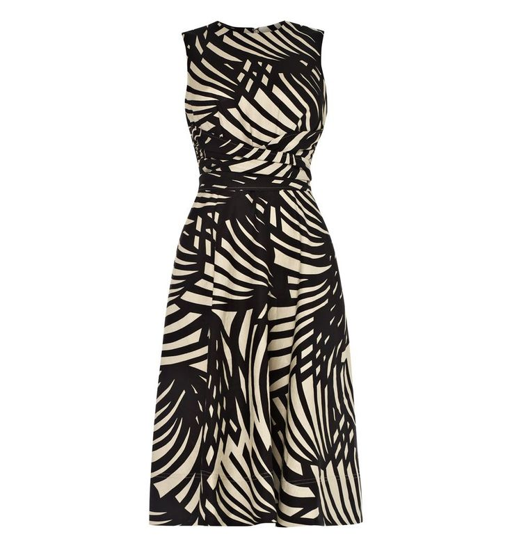 Hobbs Twitchill Dress in Black (Multi-Coloured) | Lyst