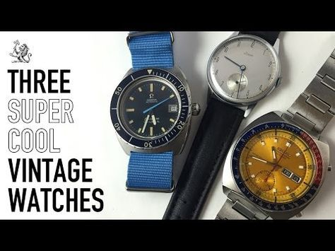 A Review Of 3 Super Cool Vintage Watches – Omega Seamaster 166.088 – Seiko Pogue 6139 – 1940s Stowa