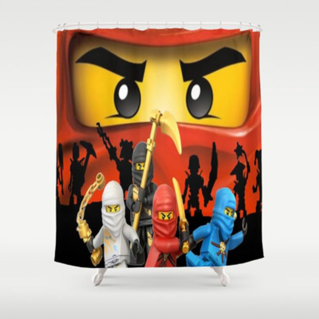 Lego Ninjago Shower Curtain By Store2u Lego Ninjago