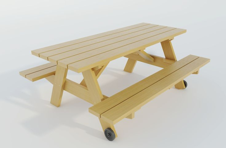 Build your own Picnic table (DIY Plans) Fun to build ...