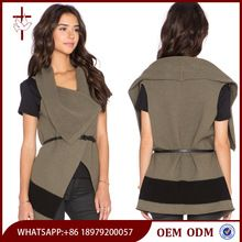 2015 Women's Casual Drape Front Vest Sleeveless sweater wholesale Best Seller follow this link http://shopingayo.space