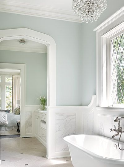 Bathroom wall color Tudor Treasure: Architect Frank Neely designs an Old  English home in Buckhead - Atlanta Magazine