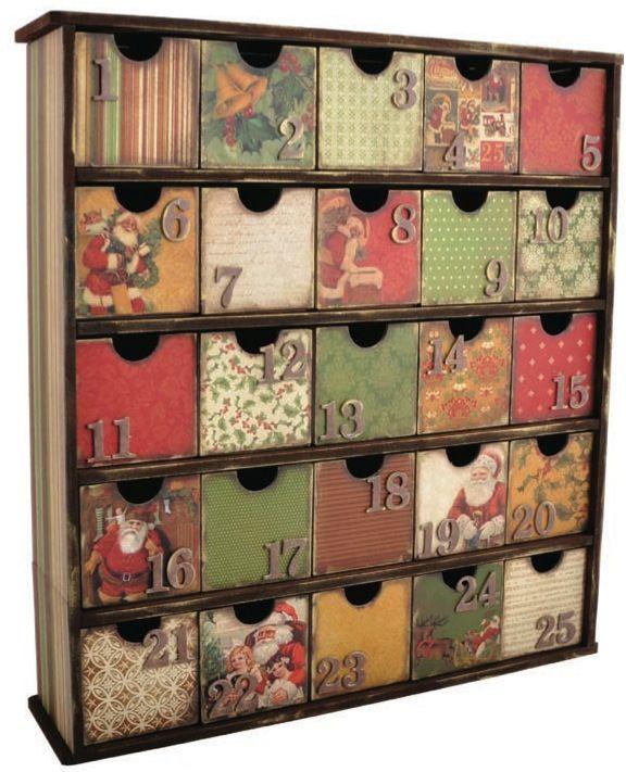25 Drawer treasure chest