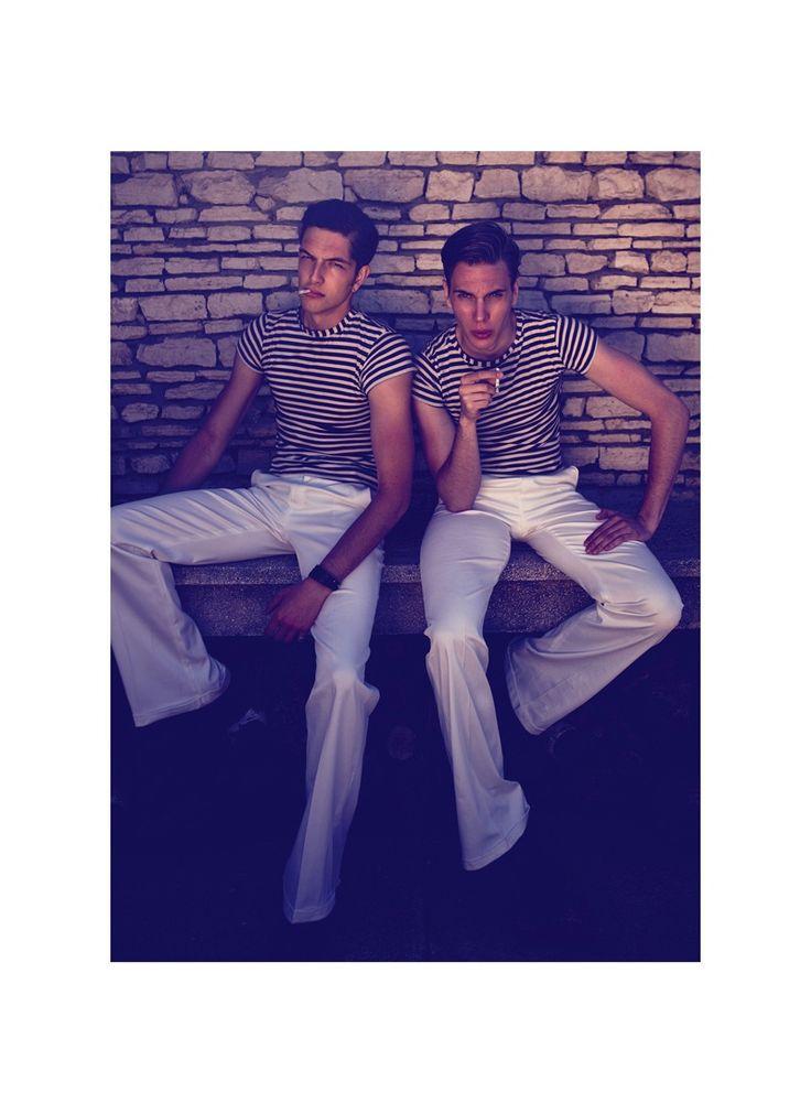 Smoke Break | Bogdan Tudor and Kaan Tilki by Tibi Clenci for Elle Mariage