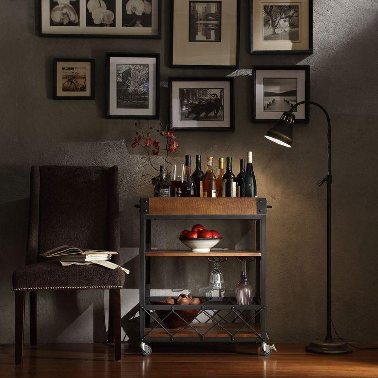 Vintage Bar Cart Roundup: Rustic, Retro, Regency
