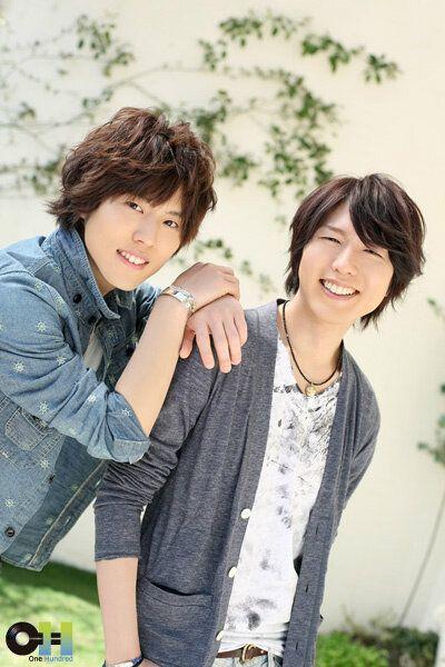Kamiya Hiroshi (right) -voice of Yato from noragami and Irino Miyu (left) voice of Haku from spirited away