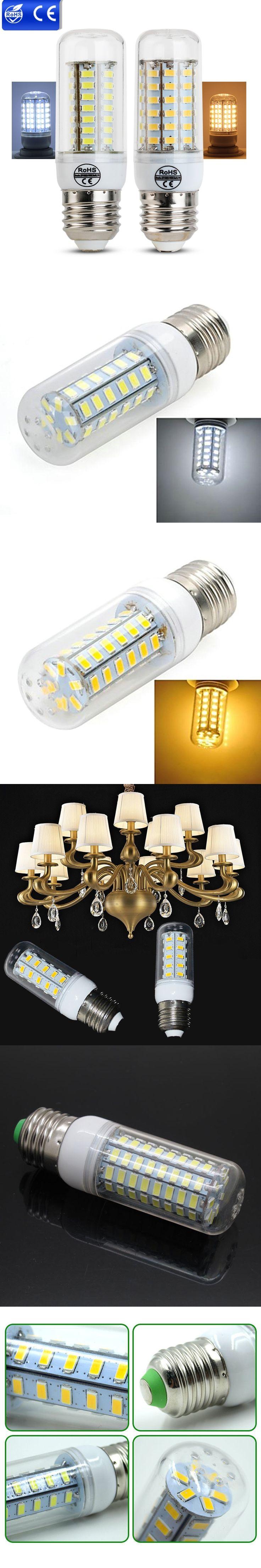 Ampolleta Led 220V E27 LED Bulb Lamp 24LEDs 36LEDs 48LEDs 56LEDs 69 LED SMD 5730 Lampadine Led E14 Lights For Home Decoration