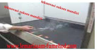 LEMARI ASAM  -  FUME HOOD: Ujicoba Lemari Asam / Fume Hood dengan ASHRAE 110