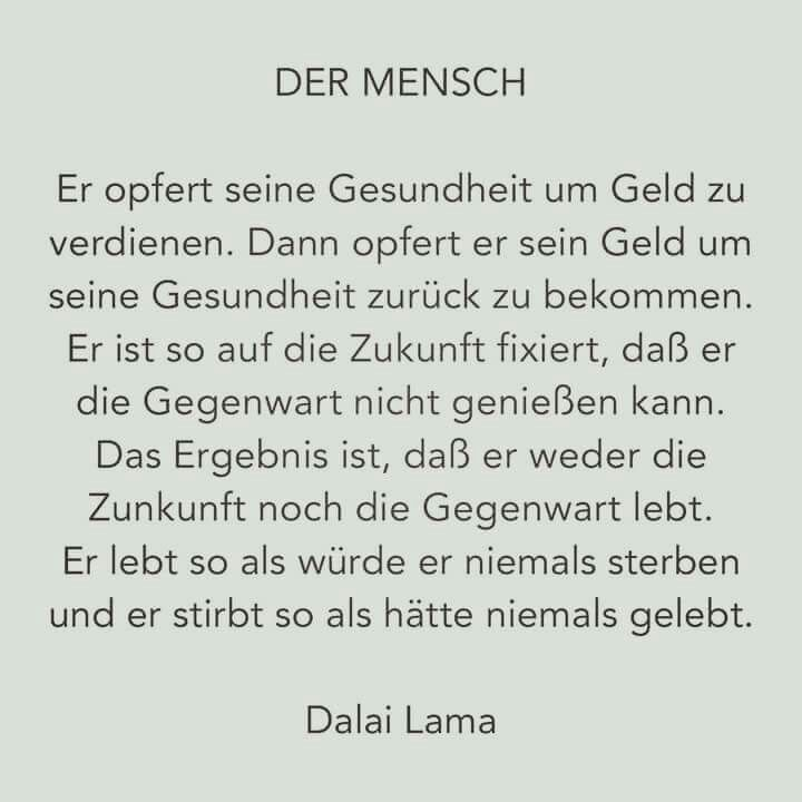 Der Mensch / Dalai Lama