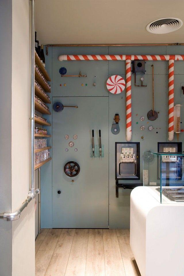 Rocambolesc Ice Cream Parlour Interior Design10 | Studio EM Interior Design Dubai, Dubai Interior Design company