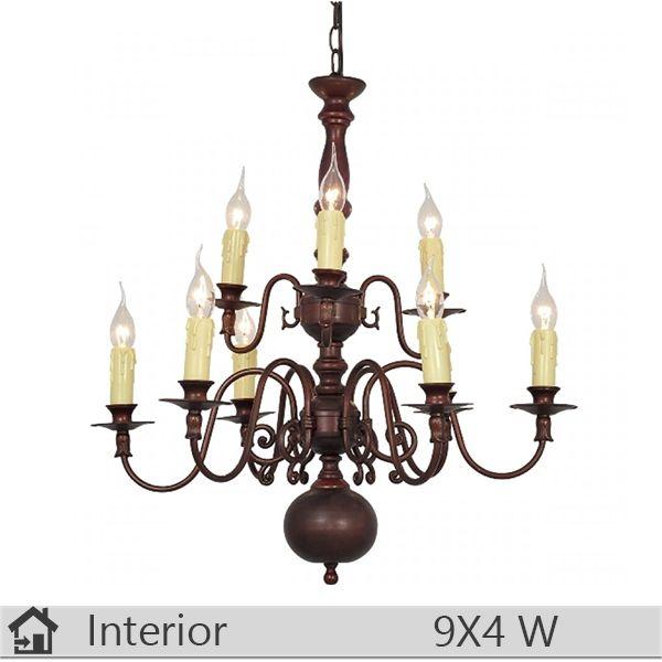 Candelabru iluminat decorativ interior Klausen, gama Royal, model nr9