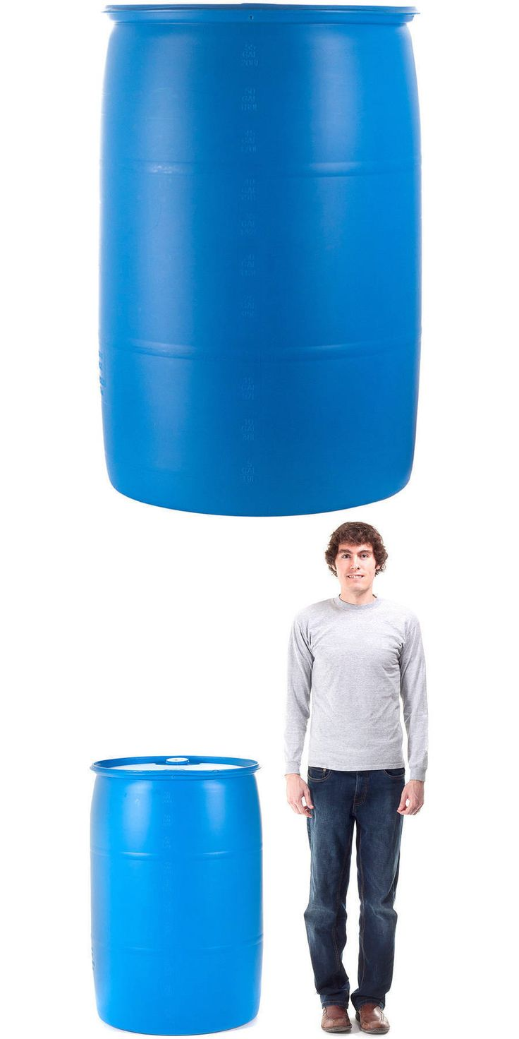 Other Emergency Gear 181415: Emergency Essentials 55 Gallon Water Barrel (Tax Free) -> BUY IT NOW ONLY: $66.38 on eBay!