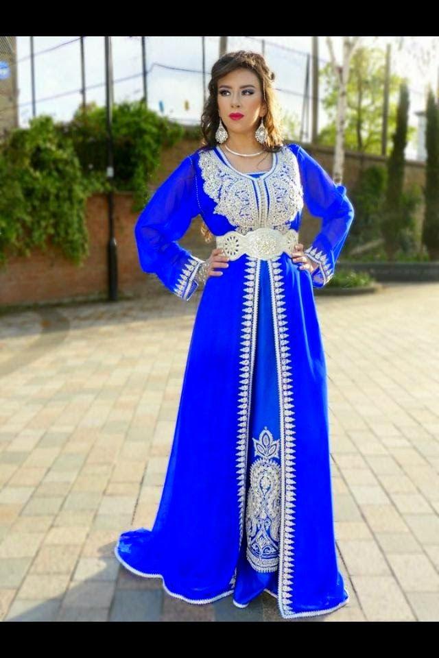 Caftan Marocain Luxe 2015 Pour Femmes   Jeune Filles  a3c0ef38e4f