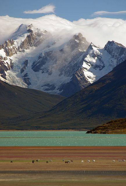 Colors of Patagonia. Lago Argentino, Santa Cruz, Argentina. Increíblemente hermoso!