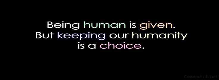 Being Human Quote Facebook Cover Photo in HD only available through Covershub.net. Being Human Quote cover can be set as your FB timeline cover for free on Facebook.com. We are consistently uploading quality Facebook covers. You can get Cool Facebook Cover Photos from our Facebook Banners Gallery.