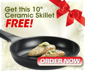 » FREE Ceramic Skillet, a $69.95 Value. (you do have to pay shipping…I just ordered this and am excited!!) Bargain Hound Daily Deals