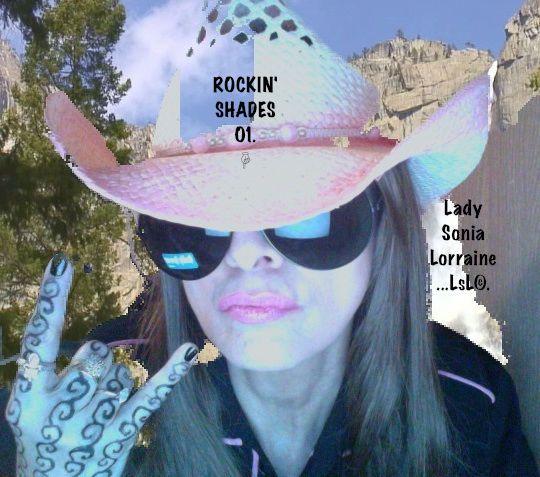 ROCKIN' SHADES 01. Black Aviator 100% UV400. SOLD BY LADY SONIA LORRAINE...LsL©. #Aviator http://www.homeshoppingwithladysonialorraine.com