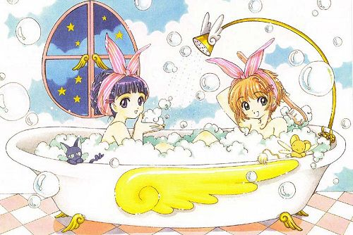 Imagen de anime, best friends, and card captor sakura