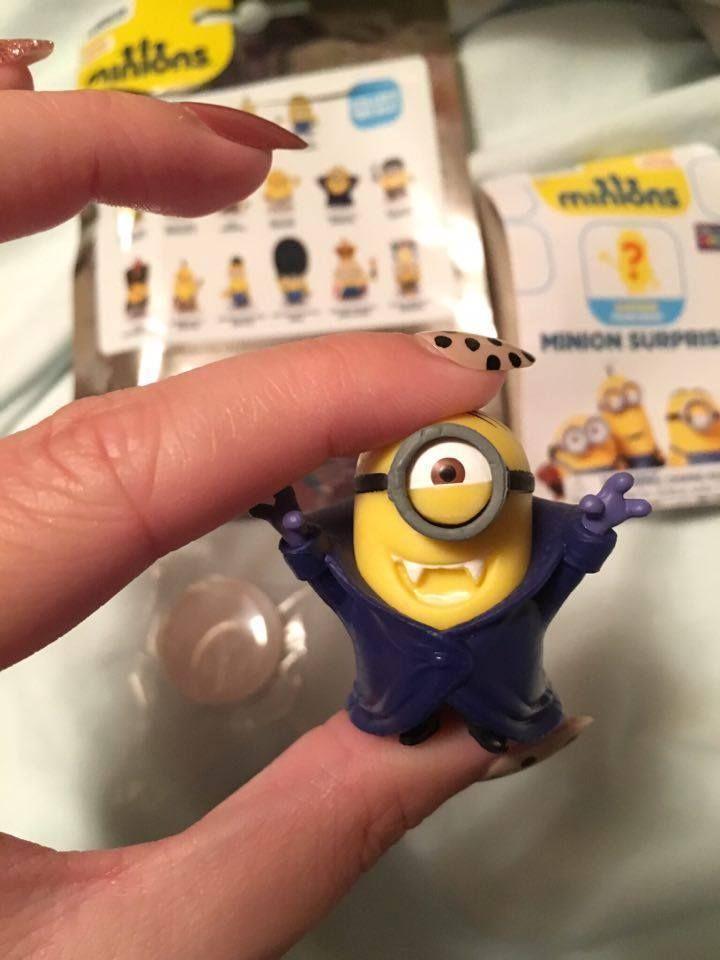 Minions Surprise Vampire Mini Figure Gone Batty New - Opened Halloween #ThinkwayToys