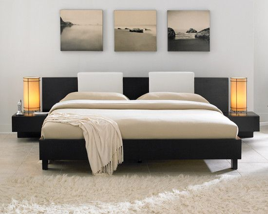 Asian Spaces King Size Platform Bed Sets Design, Pictures, Remodel, Decor and Ideas