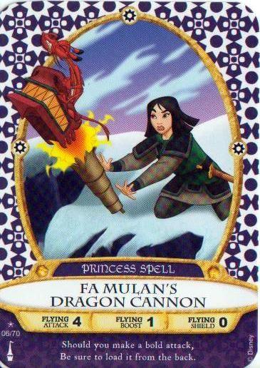 Fa Mulans Dragon Cannon