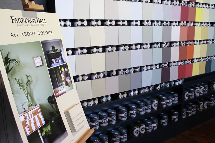 In our shop, in central Norwich, we have a full wall colour chart, new Farrow & Ball literature and knowledgable staff on hand to help you pick the right colour.