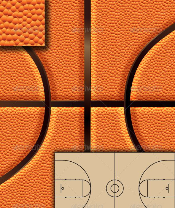 Basketball Background Set +  #GraphicRiver         Slam Dunk your basketball graphics with this high quality vector Background set.   The set includes a pattern swatch of repeating B-ball texture, a ball background mapped to a rectangle for easy design use and a bonus vector path version of a basketball court. High Quality raster version layered PSD and flat JPG of the Basketball background is also included.     Created: 5May13 GraphicsFilesIncluded: PhotoshopPSD #JPGImage #VectorEPS…
