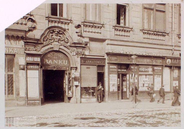 Pocz. XX w. Rynek Główny 17, Kamienica Hetmańska.